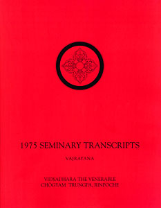 1975 Seminary Transcripts Vajrayana