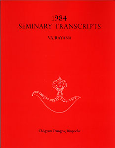 1984 Seminary Transcripts Vajrayana