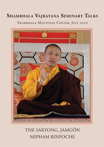 Shambhala Vajrayana 2010 Seminary Talks DVD
