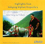 Highlights from Sakyong Mipham Rinpoche's 2001 Journey to Tibet DVD