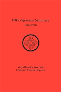 1983 Vajrayana Seminary Transcripts: eBook (ePub format only)