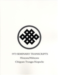 1973 Seminary Transcript Hinayana/Mahayana: eBook