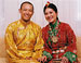 Sakyong & Sakyong Wangmo - Wedding Photo - Seated