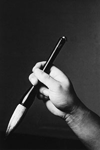 Hand with Stroke Brush - Warriors Assembly Photo - 4 x 6