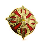 Sacred World Assembly Pin