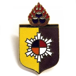 Kusung Shield Pin, Officer